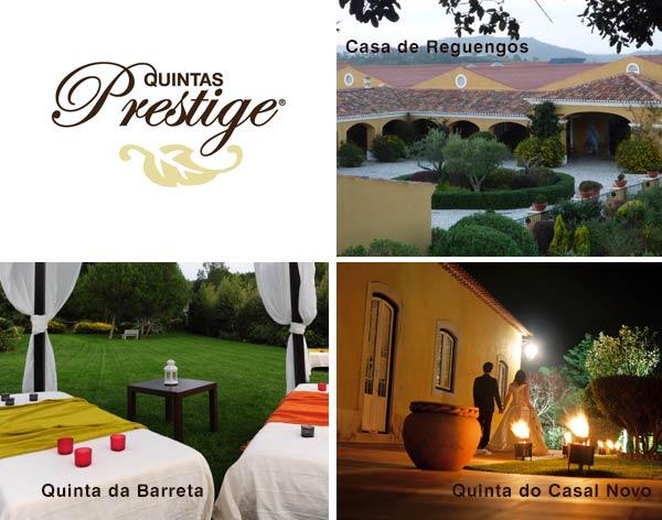 Quintas para Casamentos | Quintas Prestige