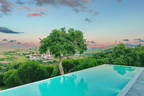 Quinta para casamentos Lisboa, Quinta do Casal Novo, Malveira, Mafra. Espelho de água, vista sobre a paisagem.